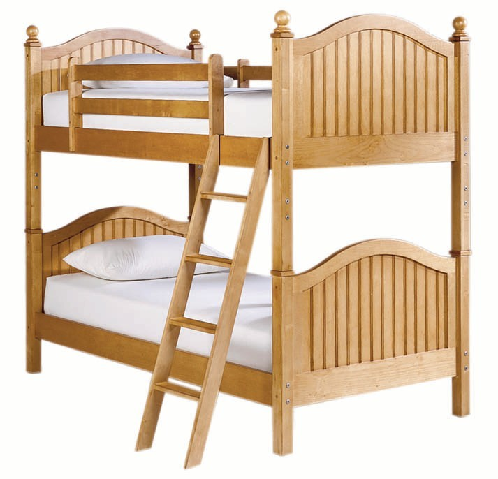Image of: Small Wooden Bunk Beds