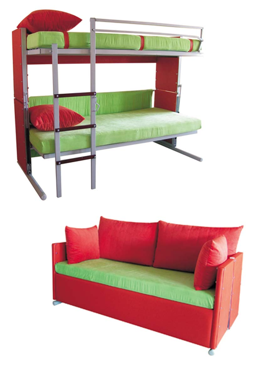 Image of: Sofa bunk bed for sale