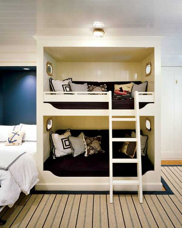Image of: Space Saving Bunk Bed Ideas