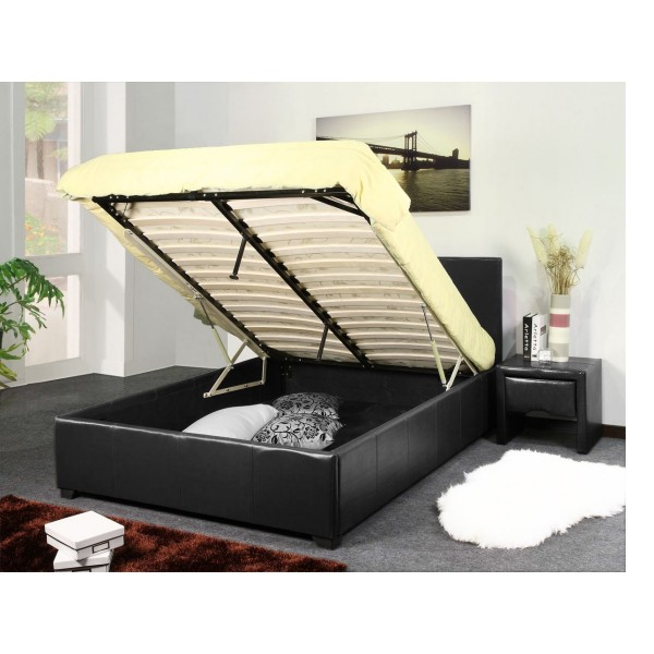 Image of: Storage bed frame ideas