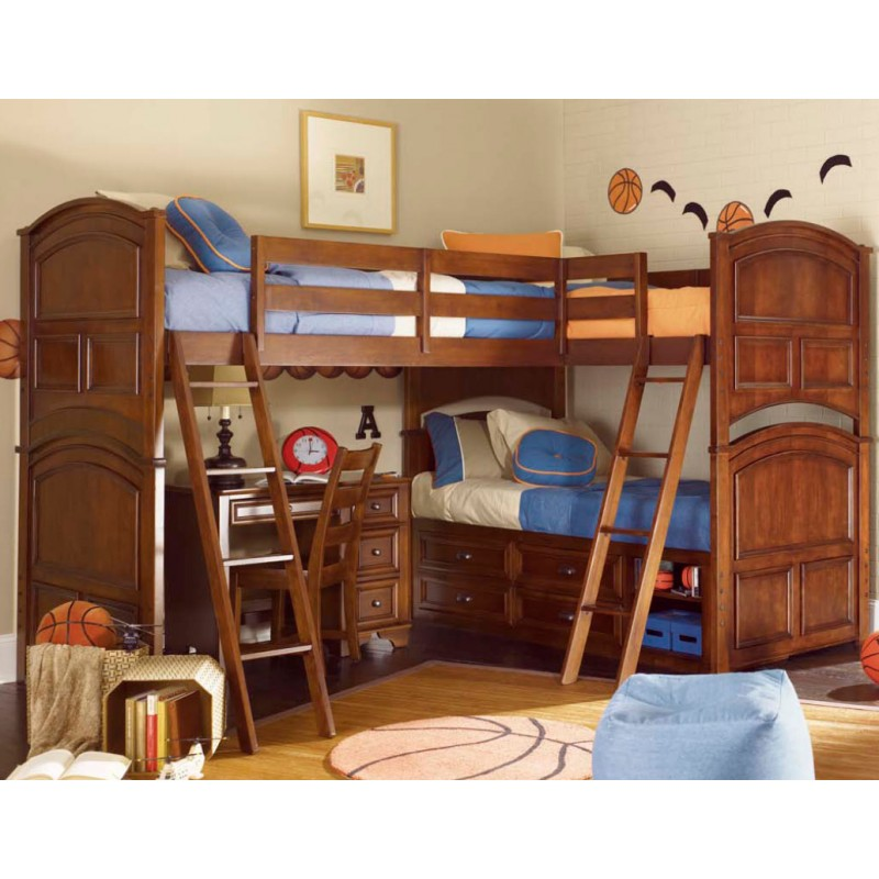 Image of: Triple Bunk Beds Ideas
