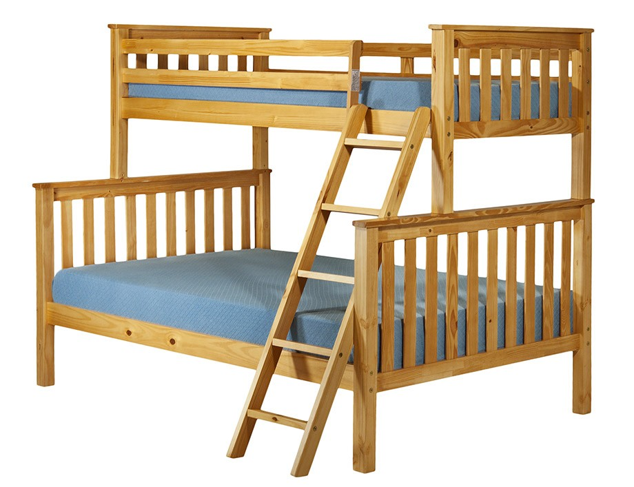 Image of: Triple bunk bed plans