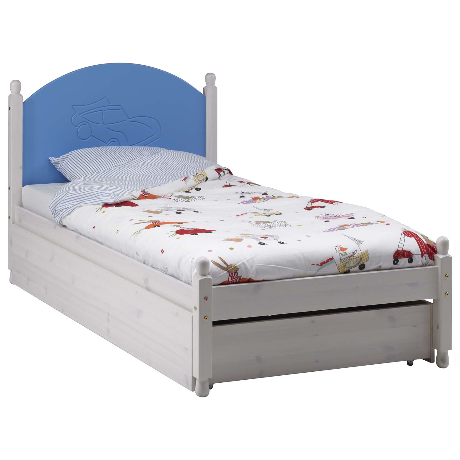 Trundle Bed Frame for Kids