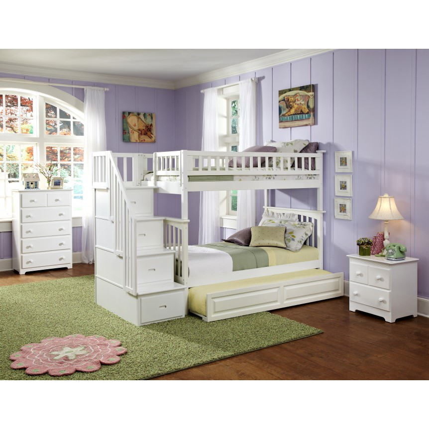 Image of: Trundle Bunk Bed Design
