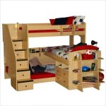 Twin bunk bed for child