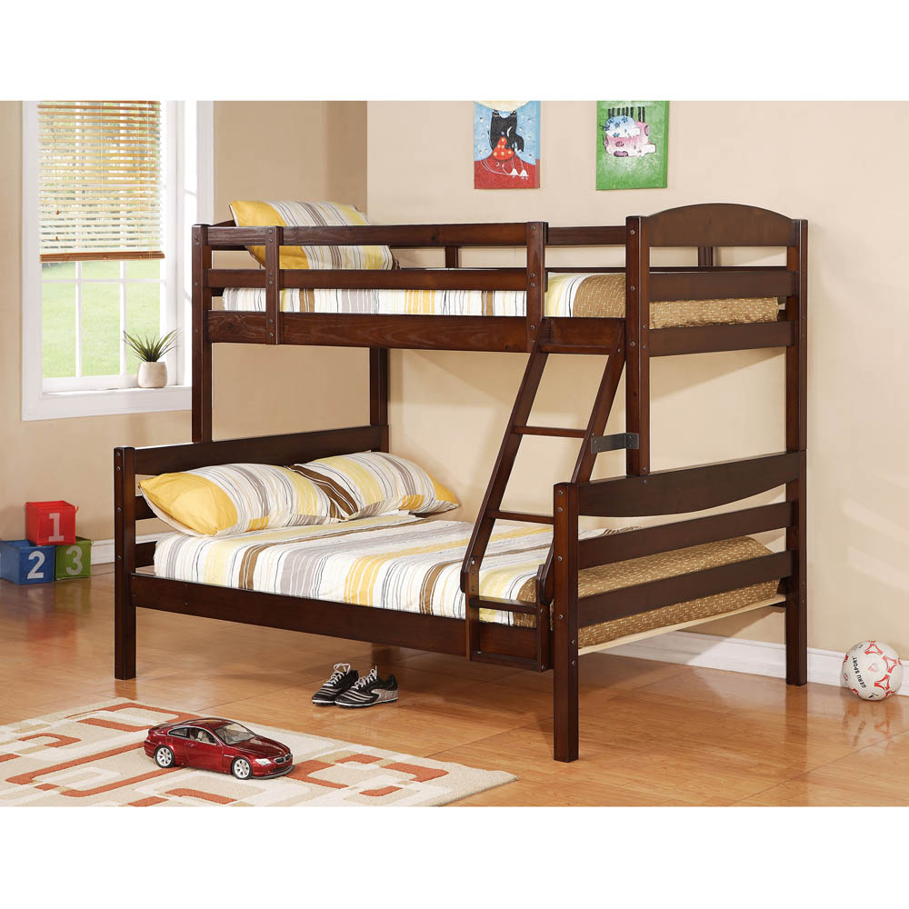 Image of: Twin bunk bed for kids