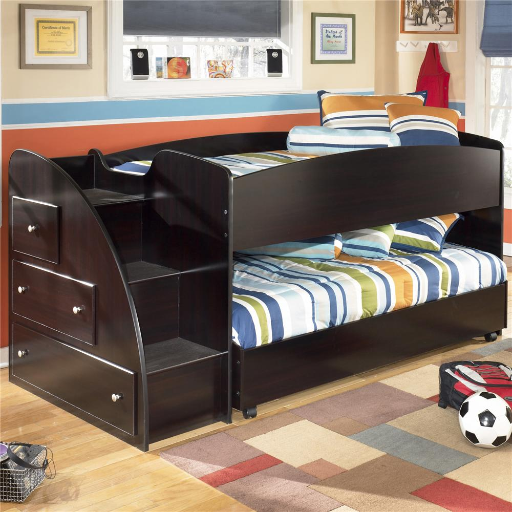 Image of: Twin bunk bed furniture
