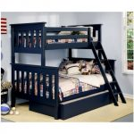 Twin bunk bed height