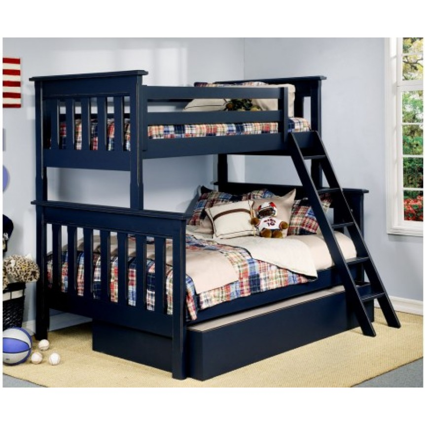 Image of: Twin bunk bed height