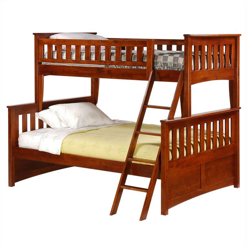 Image of: Twin bunk bed plans