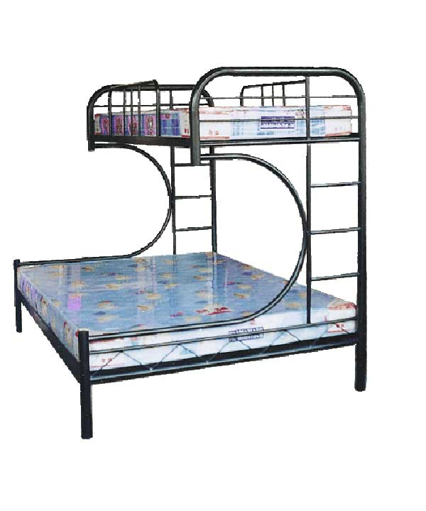 Image of: Unique metal bunk beds
