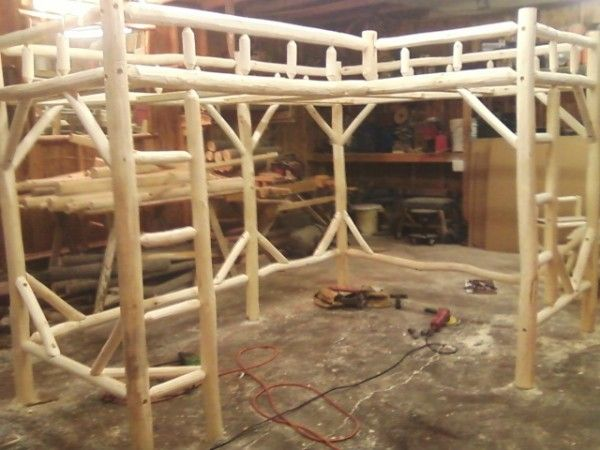 Image of: Wood Bed Frames