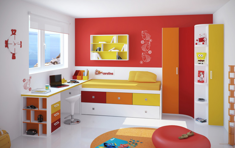 Image of: awesome Kids Modern Bedroom Furniture