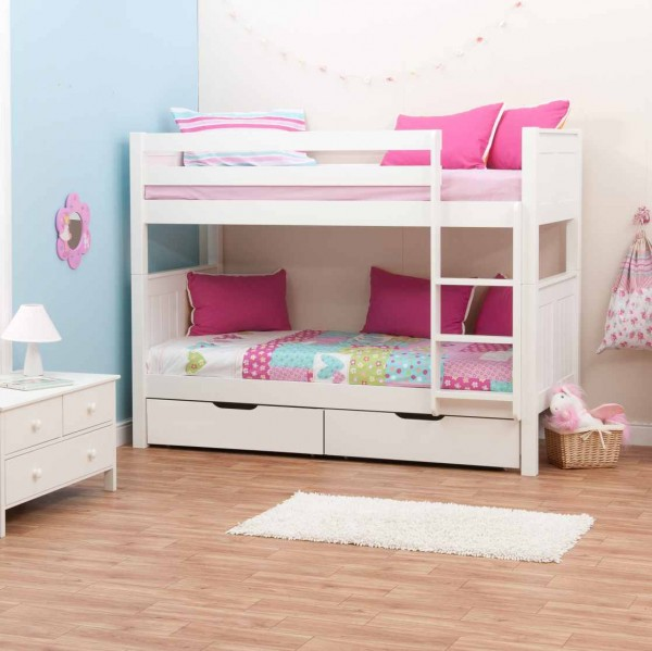 Image of: beautiful bunk beds for girls