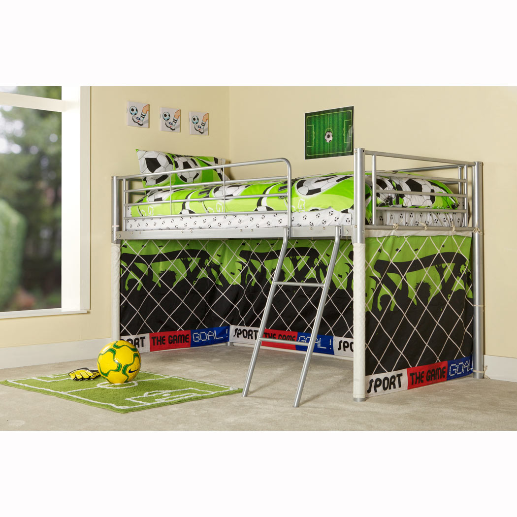Image of: boys bunk beds football