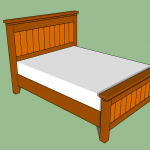 build a queen size bed frame diy