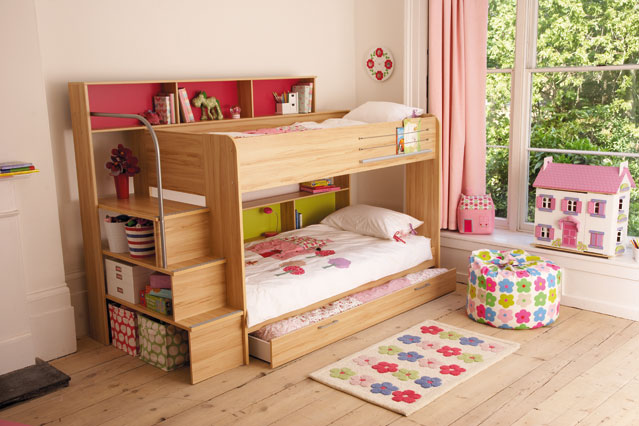 Image of: bunk beds for small rooms designs