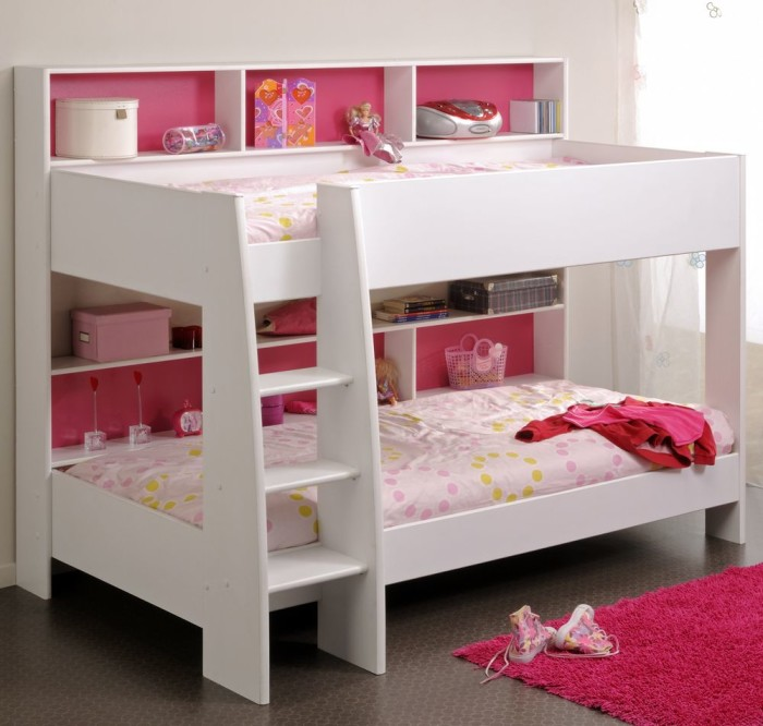 Image of: bunk beds for small rooms ideas