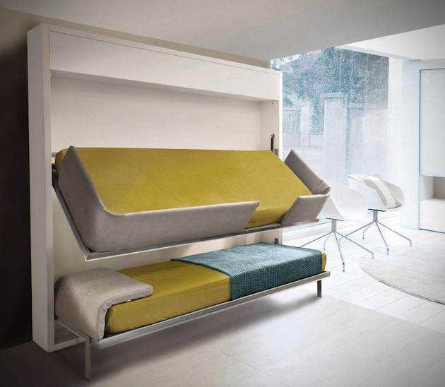 Image of: bunk beds for small rooms space
