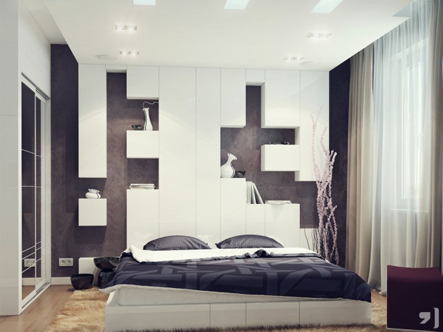 Image of: color bedroom design