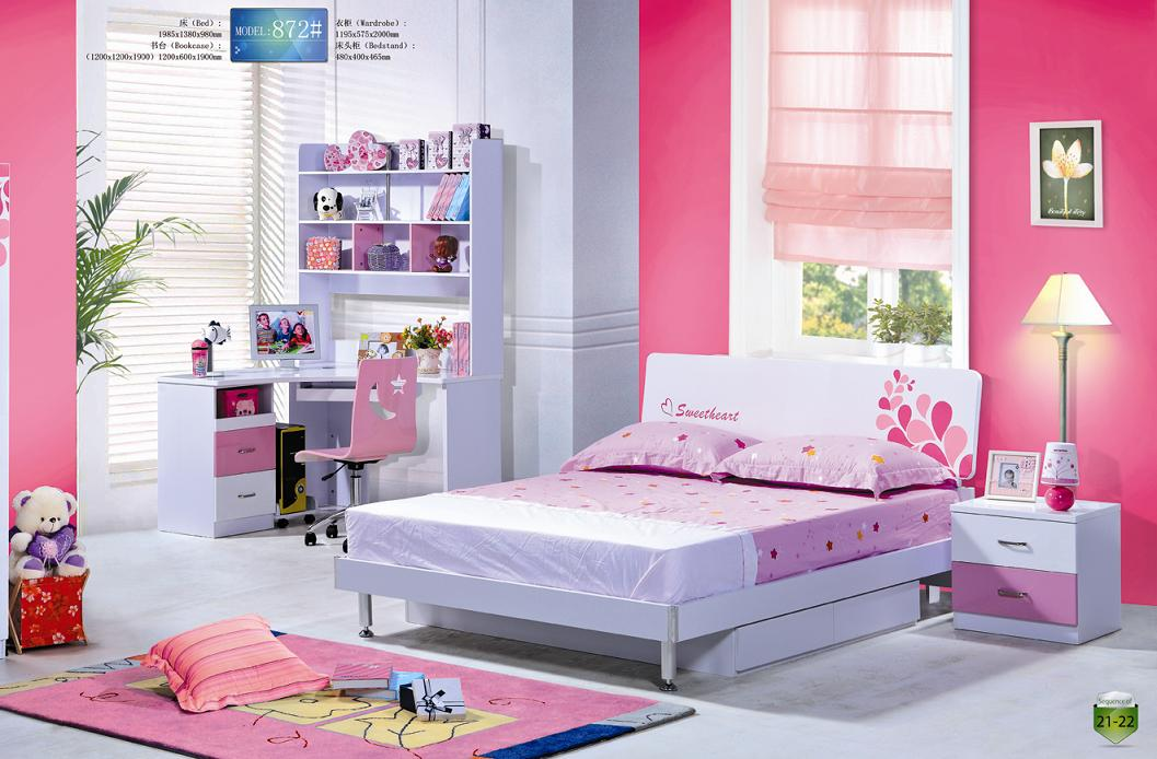 Image of: cute kids bedroom furniture sets for girls