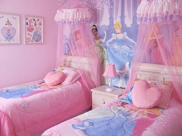 Image of: disney princess bedroom set
