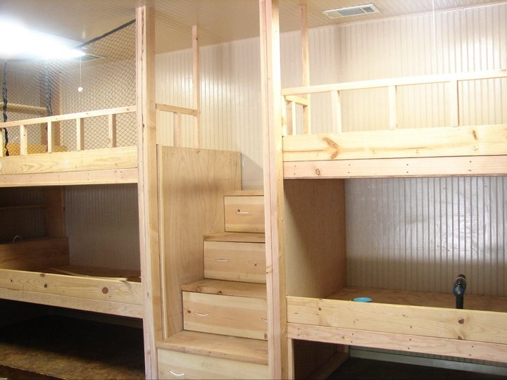diy bunk beds forr twin