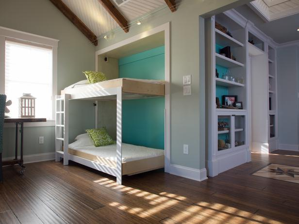 Image of: diy bunk beds photo