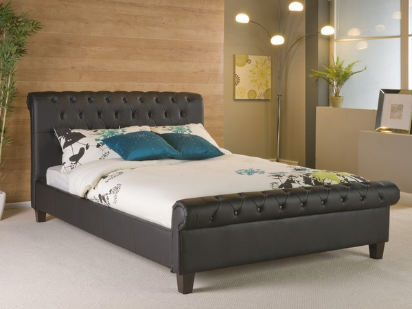 elegant design king bed frame