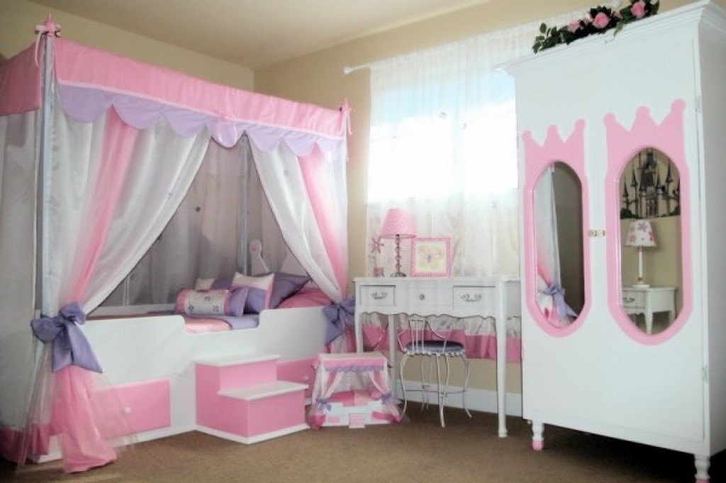 Image of: ideas kids bedroom furniture sets for girls