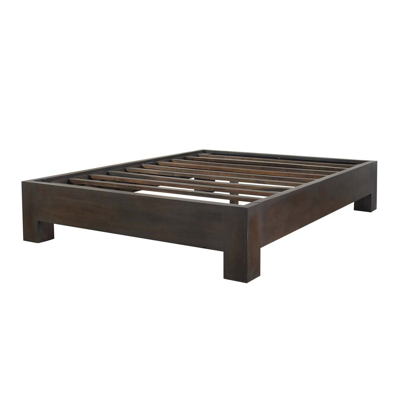 Image of: ideas platform bed frame simple