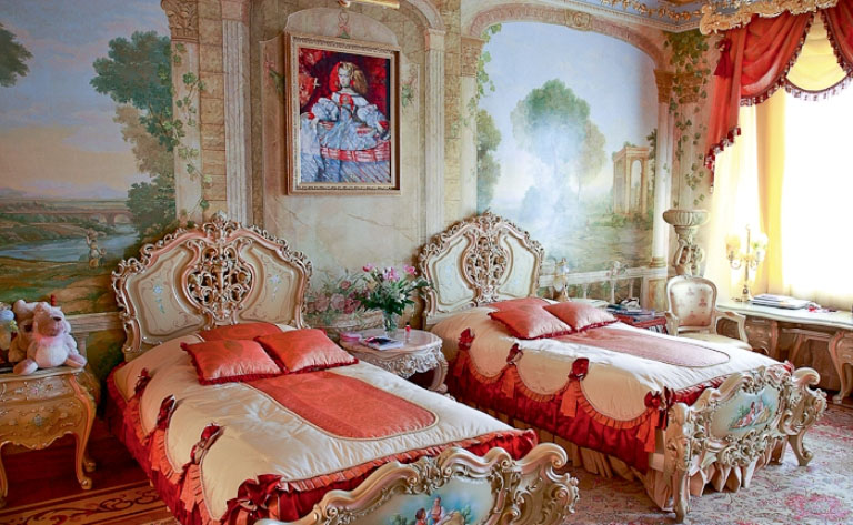 Image of: interior designs of princess bedroom set