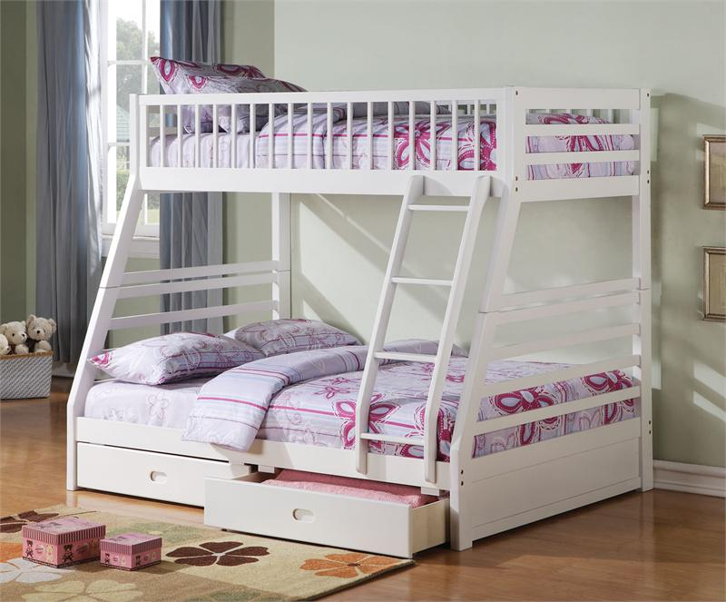 Image of: kids girl bunk beds
