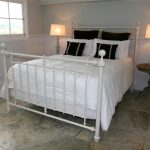 metal design king bed frame