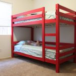 paint diy bunk beds