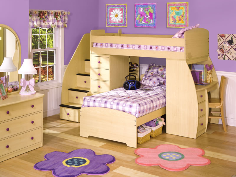 prince girl bunk beds