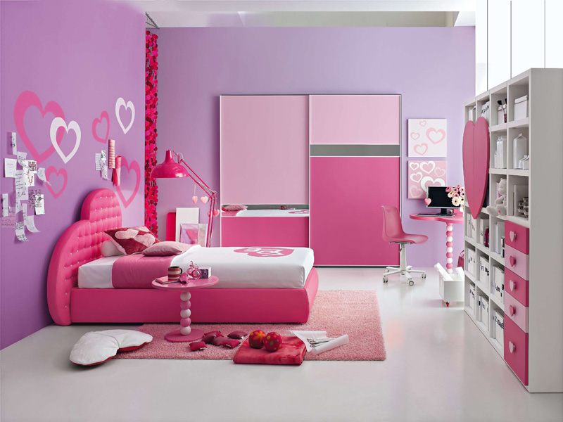 Image of: princess bedroom set color