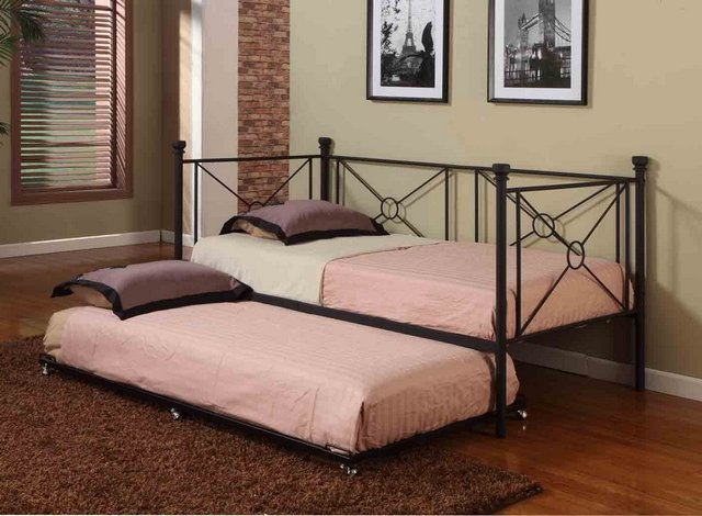 Image of: simple desogn  twin bed frame