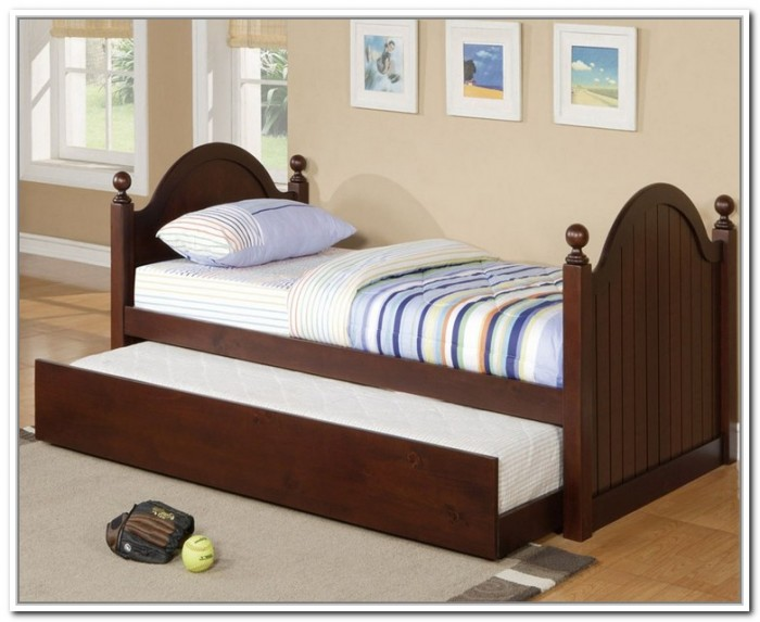 Image of: storage image  twin bed frame
