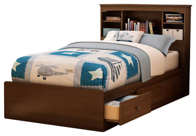 Image of: traditional kids  twin bed frame
