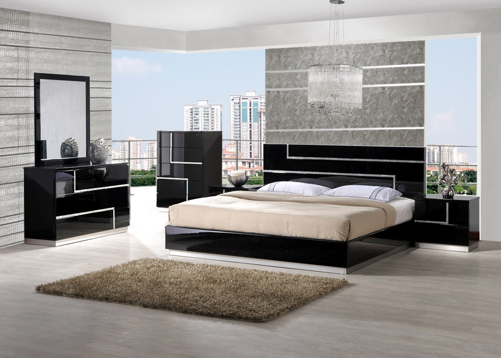 Image of: trendy bedroom design