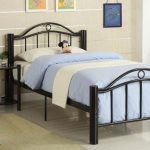 twin metal bed frame info