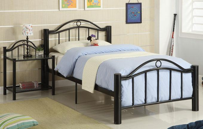 Image of: Twin Metal Bed Frame Info