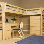 wooden bunk beds for small rooms