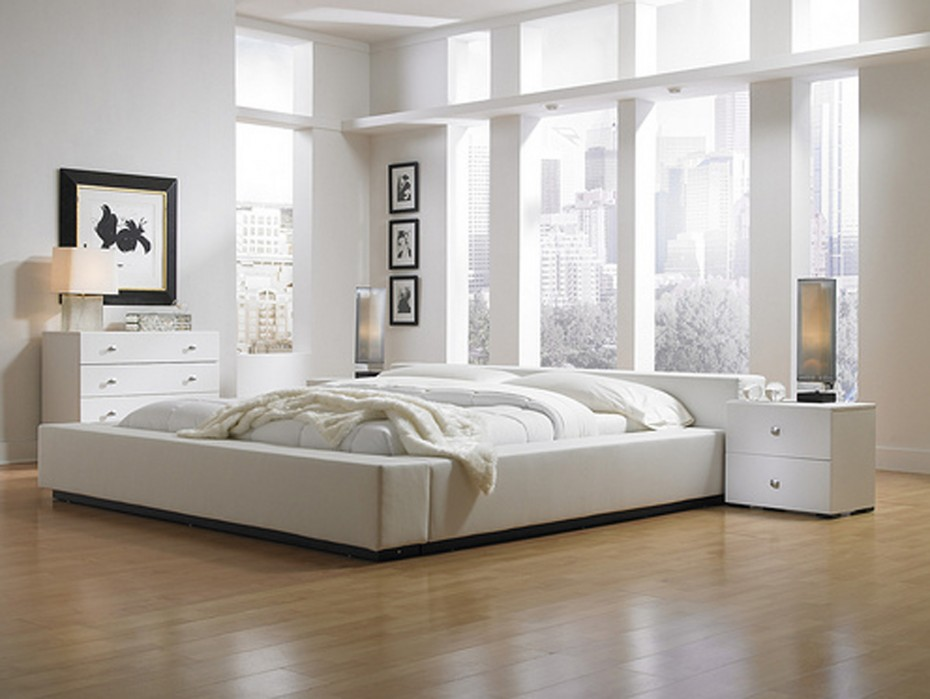 Image of: Low Profile Bed Frame Canada