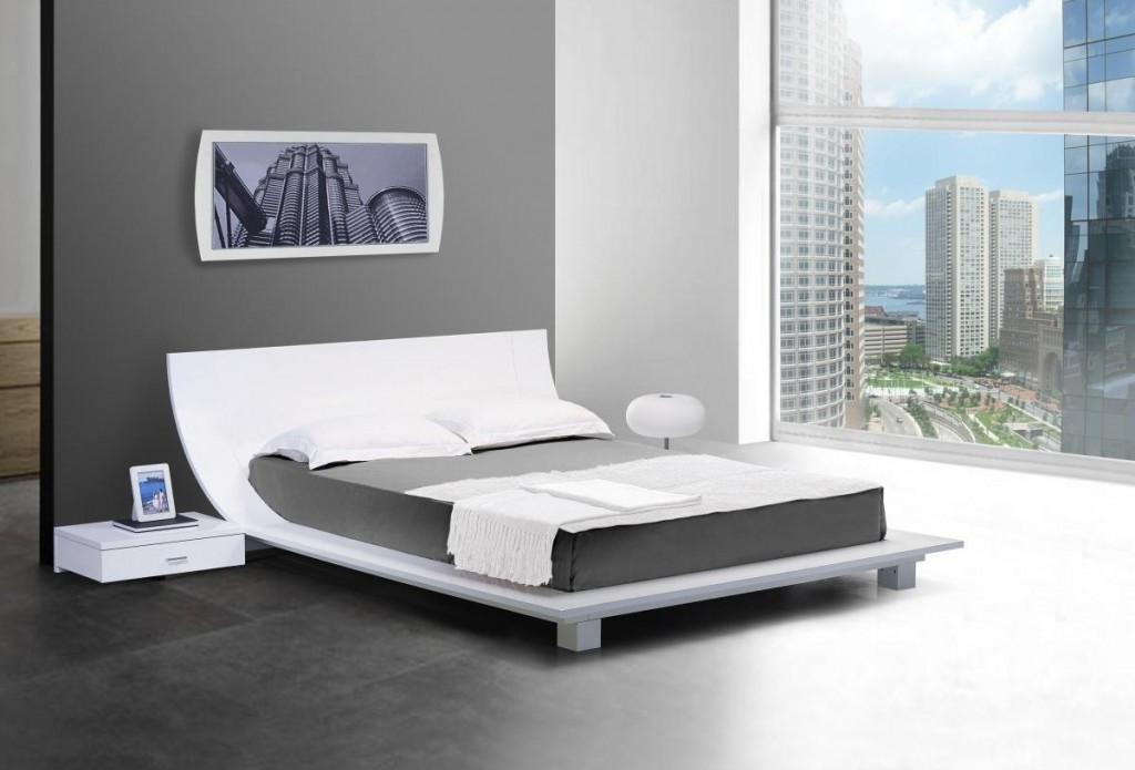 Image of: Low Profile Bed Frame Height