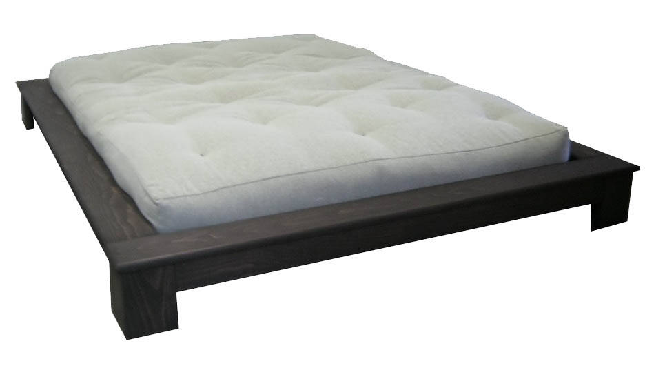 Image of: Low Profile Bed Frame Twin