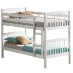 White Bunk Beds Silver