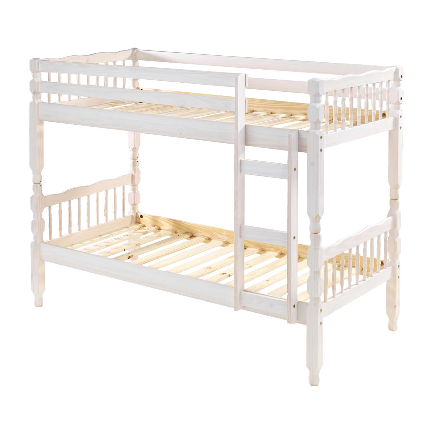 Image of: White Bunk Beds Wooden
