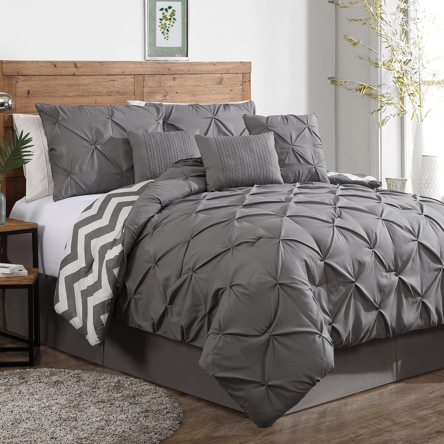 Image of: design of queen size bedding